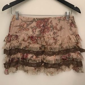 ⚡️ SALE - Lace mini skirt - Rina Scimento ⚡️